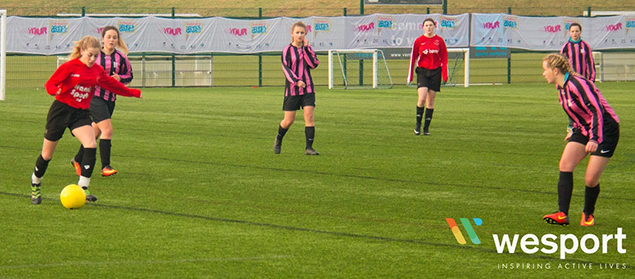 Winter School Games- Girls Footbal